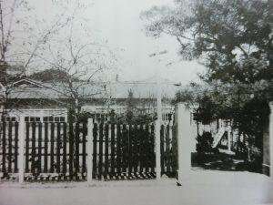 昭和11年当時の正門
